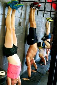 57)  Competing in the 'Day/Night Challenge' at Crossfit Altitude.