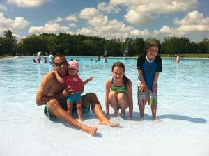 34)  Bronte Park outdoor pool.