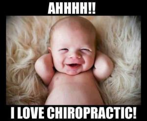 PS- M's mom admitted to me that her husband didn't initially believe in taking M to a chiropractor.  I'm so glad she convinced him.