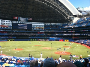 27.  A Bluejays game.