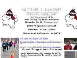 Boxing Day 10-miler