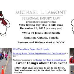 Boxing Day 10-miler