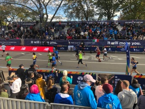 NYC marathon finish
